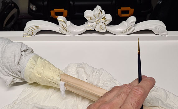 Restoration of Heritage painting finishes